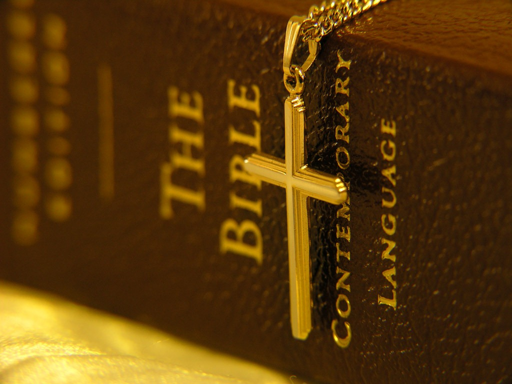 cross and the bible - photo #16